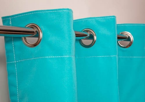 Drapery with Grommets
