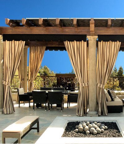 Sunbrella Daybed Outdoor Curtains